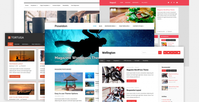 tema premium di wordpress